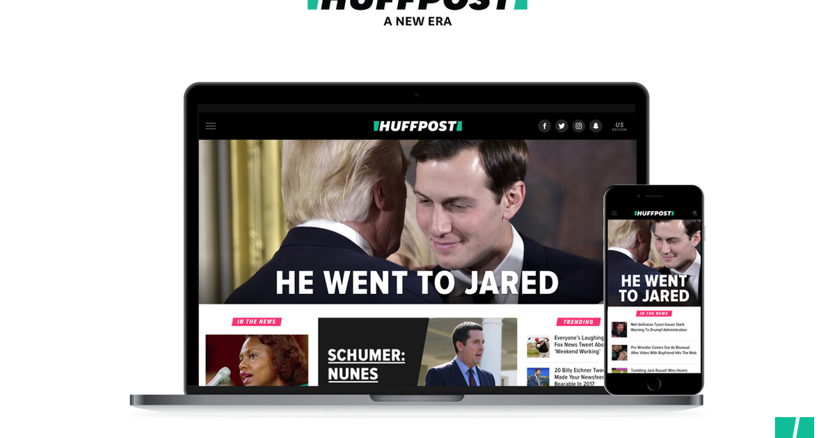 HuffPost shows off its slick new look