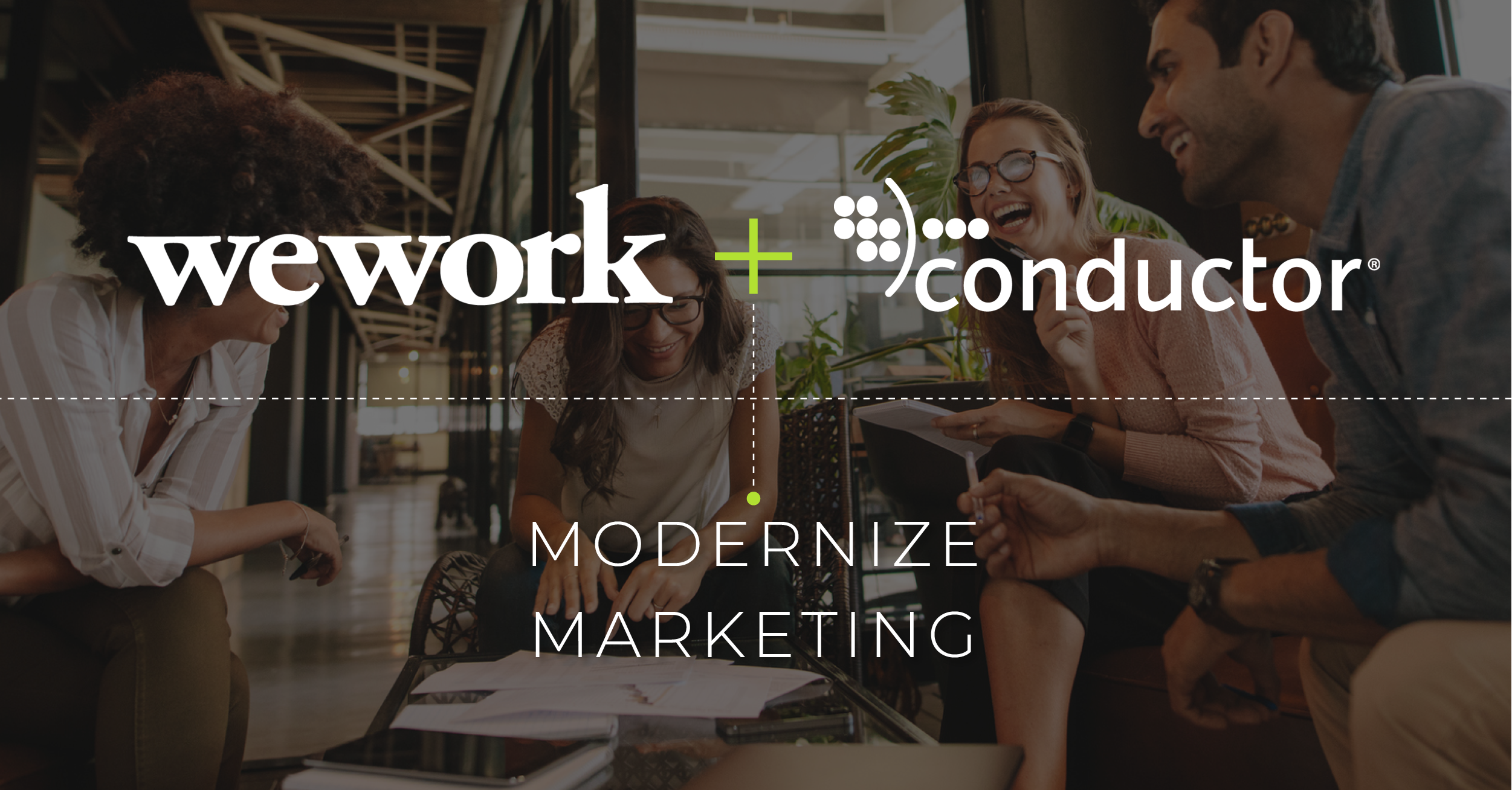 WeWork acquires SEO and marketing company Conductor